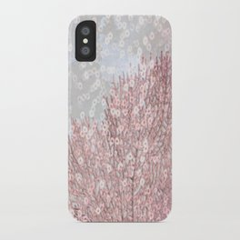 pink tree iPhone Case