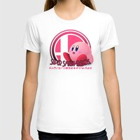 super smash bros T-shirts featuring Kirby - Super Smash Bros. by Donkey Inferno