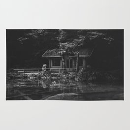 Cottage (Black and White) Rug