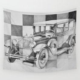 Packard Wall Tapestry