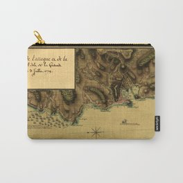 Map Of Grenada 1779 Carry-All Pouch
