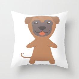 Sloughi Gift Idea Throw Pillow