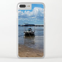 Proximity and Chance I Clear iPhone Case