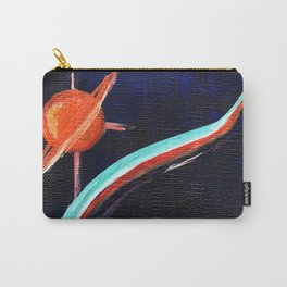 Space Lines Carry-All Pouch