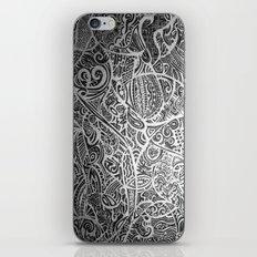 Silver Vivid  iPhone & iPod Skin
