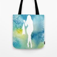 sexy Tote Bags featuring Sexy by Cs025