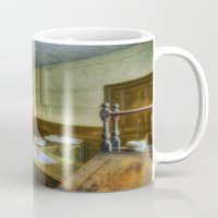 office Mugs featuring Antique Office by Ian Mitchell