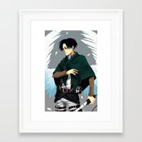levi Framed Art Prints featuring Levi by MelCassells