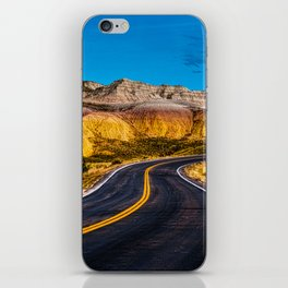 Badlands Highway iPhone Skin