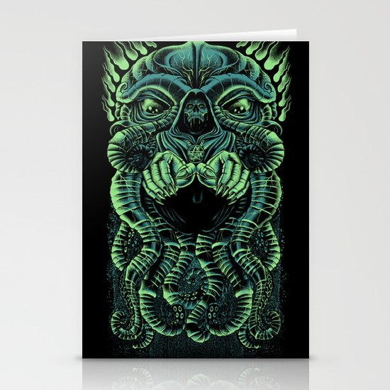 The Cultist Stationery Cards