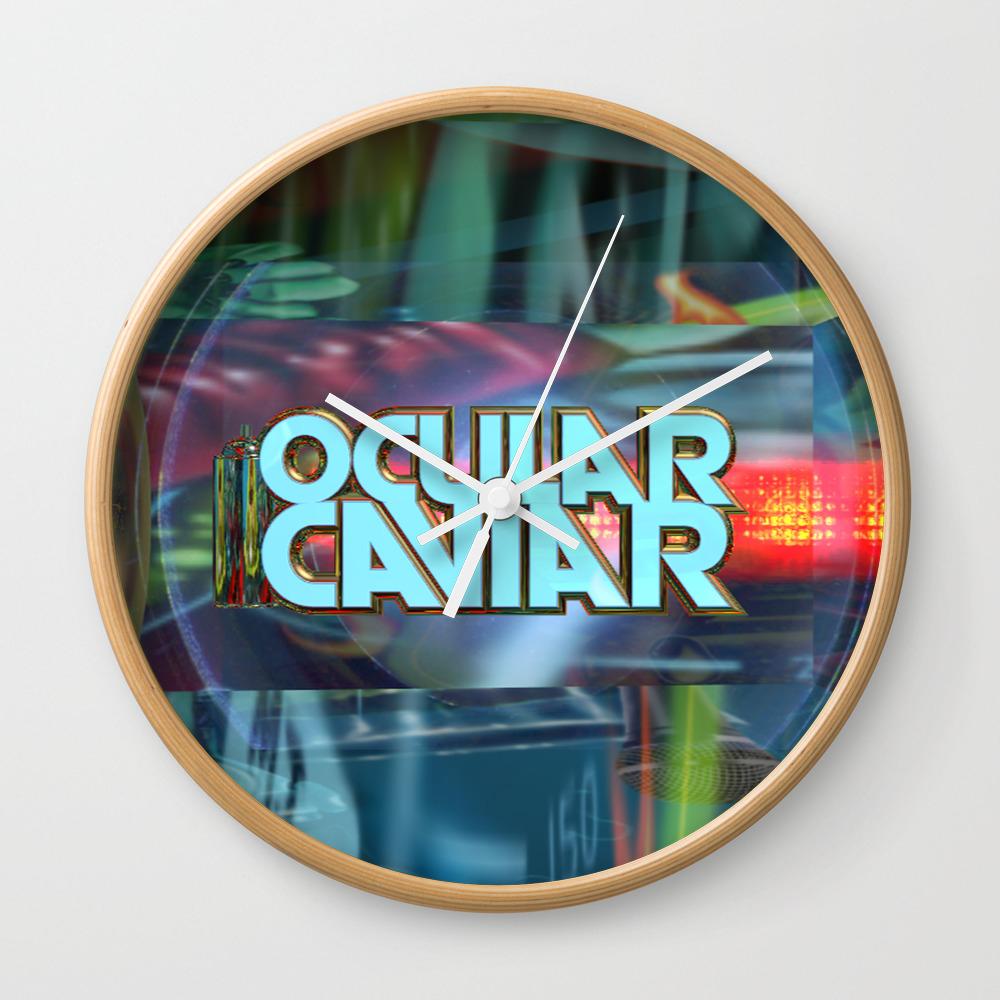 Ocular Caviar Wall Clock by Ocularcaviar CLK8027297