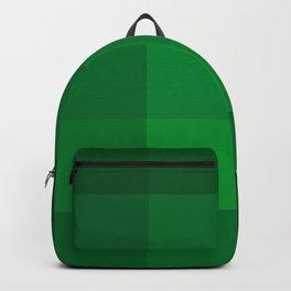 Green Checks Backpack