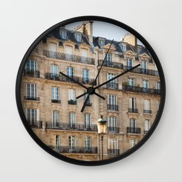 Classique - Paris Apartments Wall Clock