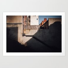 Merchants Row Art Print
