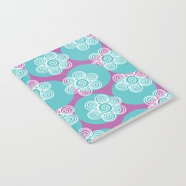 Swirly Flowers Notebook