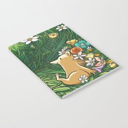 Roll on Flowers Notebook