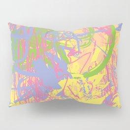 Complex 1 | Soft Pastel Abstract Art | Pastel Wall Art Pillow Sham