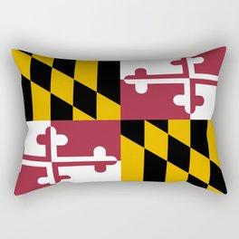 Maryland Flag Rectangular Pillow