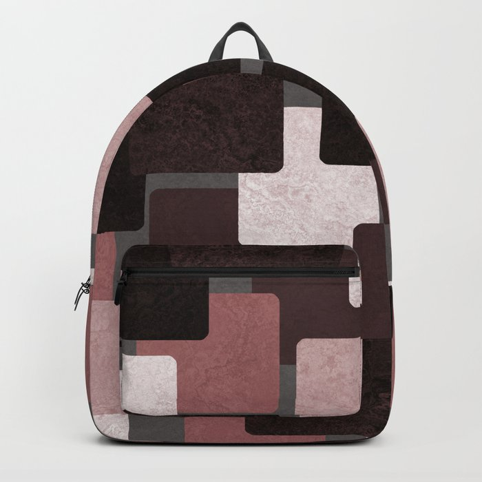 Geometric Marble 06 (abstract) Backpack