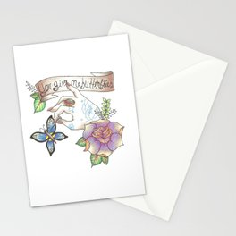 Valentine's Day: 'You Give Me Butterflies' Stationery Cards