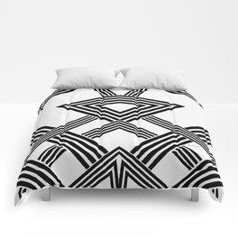 Black and White Diamond Comforters