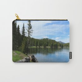 Serene Yellowstone River Carry-All Pouch