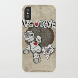 voodbye iPhone Case