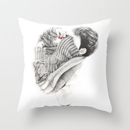 Pullover Attack Throw Pillow