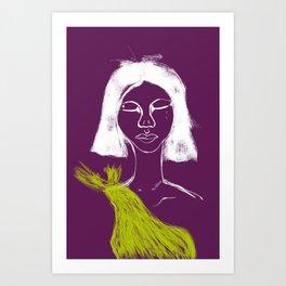 Organza Tears Art Print