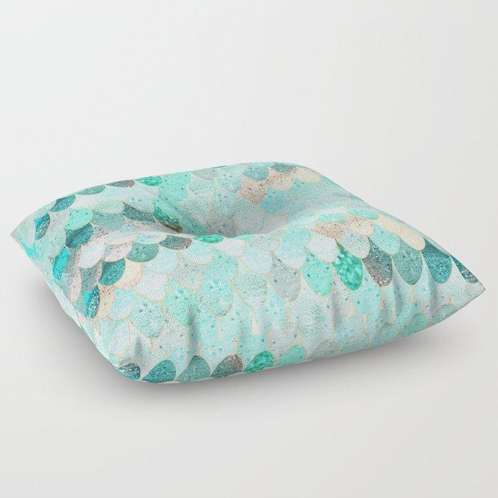 SUMMER MERMAID Floor Pillow