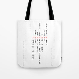 David Fincher Tote Bag