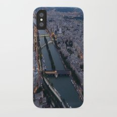 Midnight in Paris Slim Case iPhone X