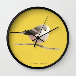 Long-tailed tit Wall Clock
