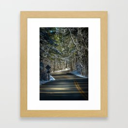 Early Winter in Itasca State Park Framed Art Print