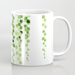 Watercolor string of pearls illustration Coffee Mug