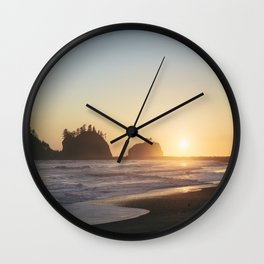 La Push Beach Wall Clock
