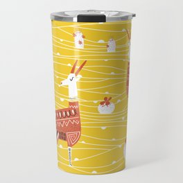 Antelope in the desert Travel Mug
