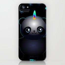 Glow in the Dark Pandacorn iPhone Case