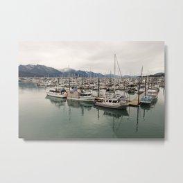 Port of Call Metal Print