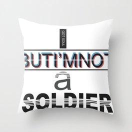I got soul Throw Pillow