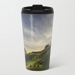 On the slopes of One Tree Hill Travel Mug