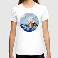 caleb troy T-shirts featuring Troy Marinera ~ Sailor by Marivi Troy