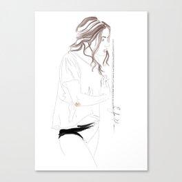 L'Olga Canvas Print