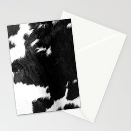 Modern Cowhide Stationery Cards