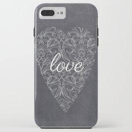 Love Heart Design {Black Version} iPhone Case