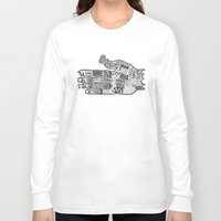 vancouver Long Sleeve T-shirts featuring Vancouver by Aaron Schwartz