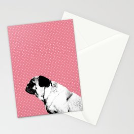 The Pug is a Heartbreaker Stationery Cards