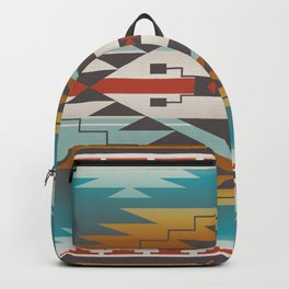 American Native Pattern No. 287 Backpack