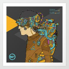 A Brighter Look At The Future Art Print