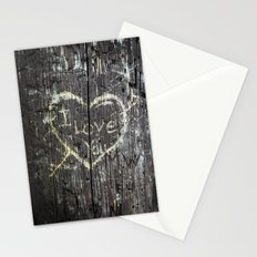 The Carving Tree - I Love You Stationery Cards